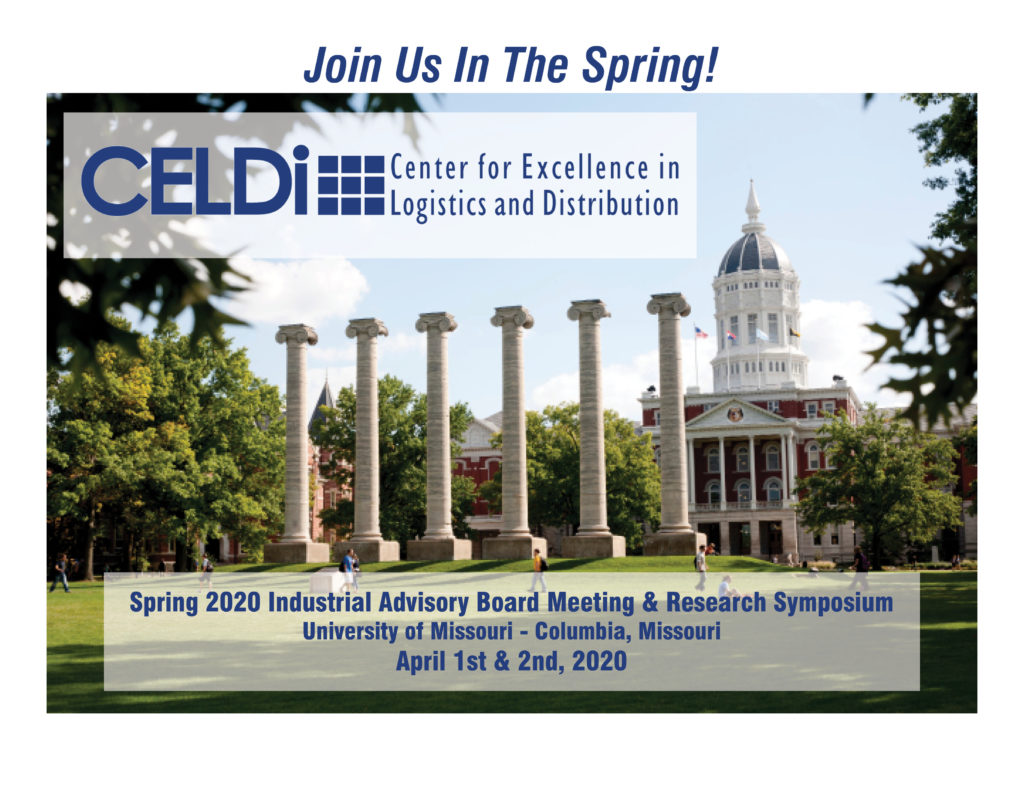 Save the date to join us in spring 2020 at the University of Missouri, Columbia Missouri. April 1 & 2, 2020